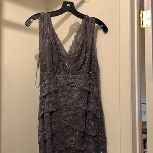 Marina size 4 grey dress